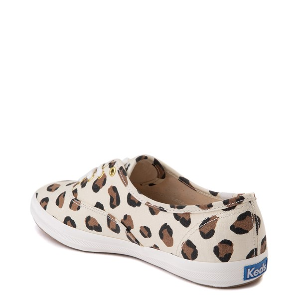 alternate view Womens Keds Champion Original Casual Shoe - LeopardALT2
