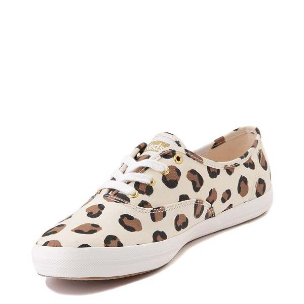 alternate view Womens Keds Champion Original Casual Shoe - LeopardALT3