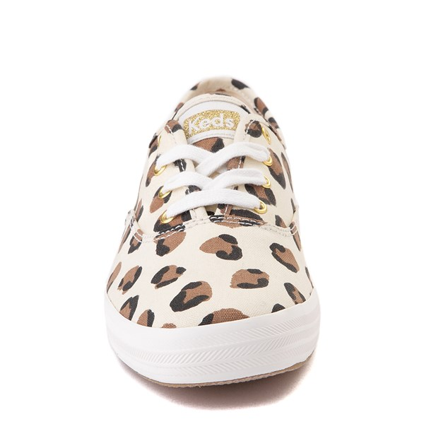 alternate view Womens Keds Champion Original Casual Shoe - LeopardALT4
