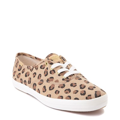 Alternate view of Womens Keds Champion Original Casual Shoe - Leopard / Tan