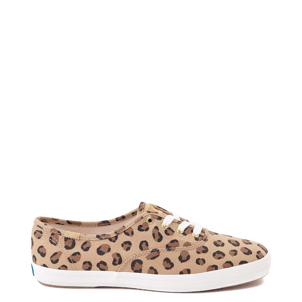Womens Keds Champion Original Casual Shoe - Leopard