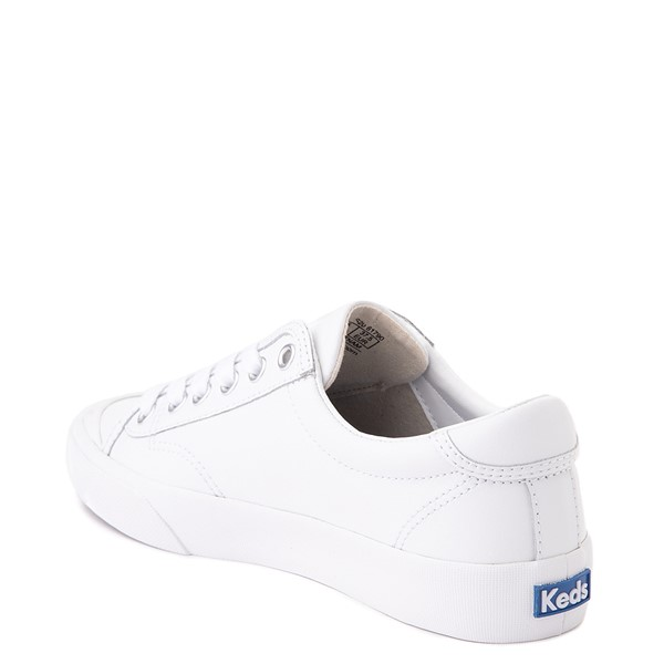 alternate view Womens Keds Crew Kick 75 Leather Casual Shoe - WhiteALT1