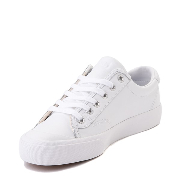 alternate view Womens Keds Crew Kick 75 Leather Casual Shoe - WhiteALT2