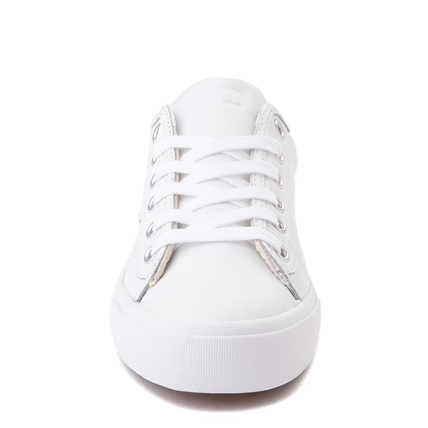alternate view Womens Keds Crew Kick 75 Leather Casual Shoe - WhiteALT4