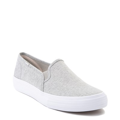 Alternate view of Womens Keds Double Decker Slip On Jersey Knit Casual Shoe - Heather Gray