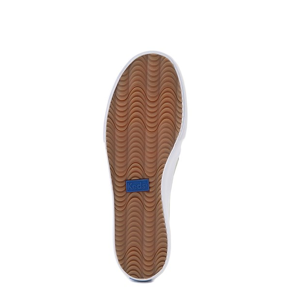alternate view Womens Keds Double Decker Slip On Perf II Suede Casual Shoe - SageALT5