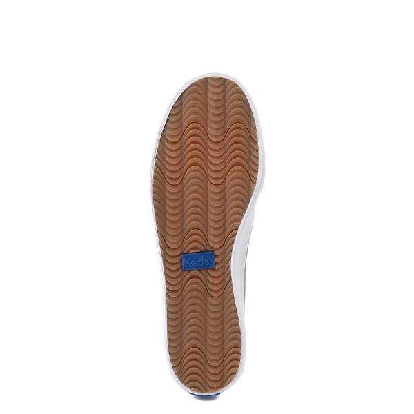 alternate view Womens Keds Double Decker Slip On Suede Perf Casual Shoe - GrayALT5