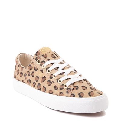 Alternate view of Womens Keds Jump Kick Casual Shoe - Leopard