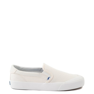 Main view of Womens Keds Crew Kick 75 Canvas Slip On Casual Shoe - White