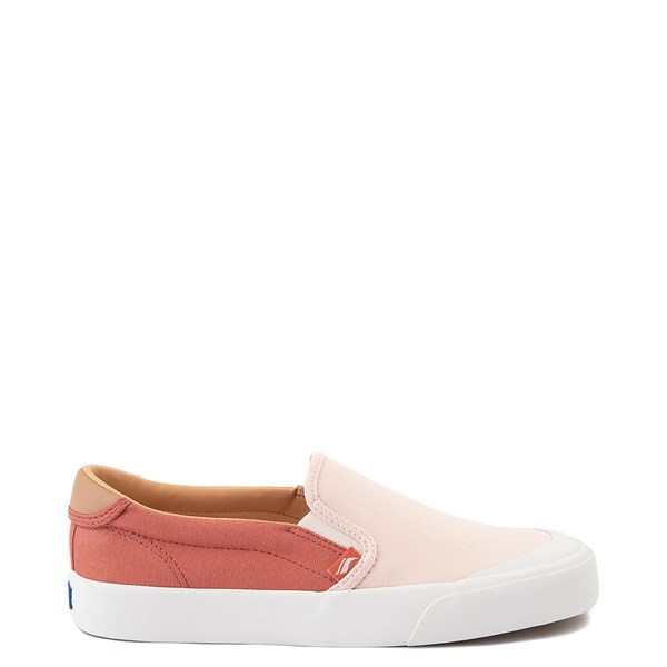 Main view of Womens Keds Crew Kick 75 Slip On Casual Shoe - Coral