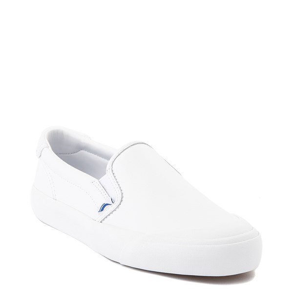 alternate view Womens Keds Crew Kick 75 Leather Slip On Casual Shoe - WhiteALT1