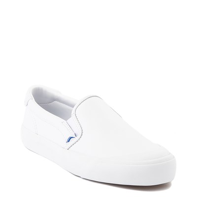 Alternate view of Womens Keds Crew Kick 75 Leather Slip On Casual Shoe - White