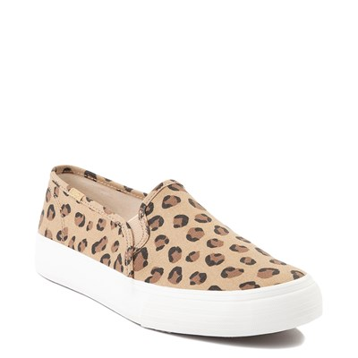 Alternate view of Womens Keds Double Decker Slip On Casual Shoe - Leopard