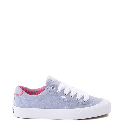 Main view of Womens Keds Crew Kick 75 Casual Shoe - Light Blue / Neon Pink