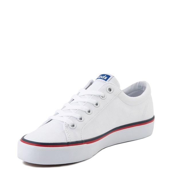 alternate view Womens Keds Jump Kick Casual Shoe - WhiteALT3