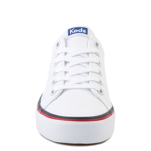 alternate view Womens Keds Jump Kick Casual Shoe - WhiteALT4