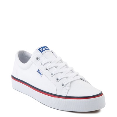 Alternate view of Womens Keds Jump Kick Casual Shoe - White