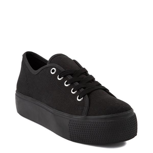 alternate view Womens Steve Madden Elore Platform Casual Shoe - Black MonochromeALT1