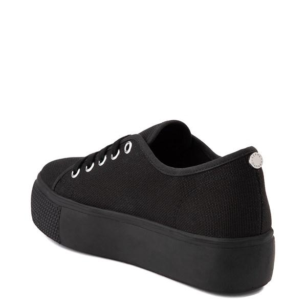 alternate view Womens Steve Madden Elore Platform Casual Shoe - Black MonochromeALT2