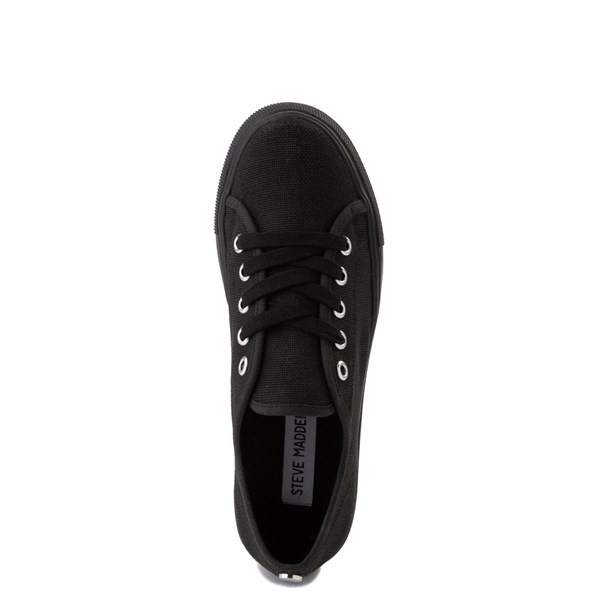 alternate view Womens Steve Madden Elore Platform Casual Shoe - Black MonochromeALT4B