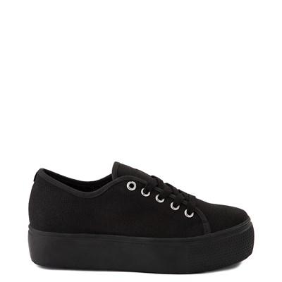 Main view of Womens Steve Madden Elore Platform Casual Shoe - Black Monochrome