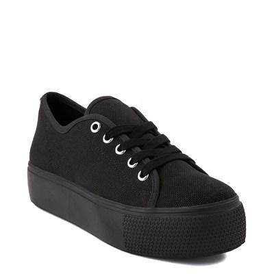 Alternate view of Womens Steve Madden Elore Platform Casual Shoe - Black Monochrome