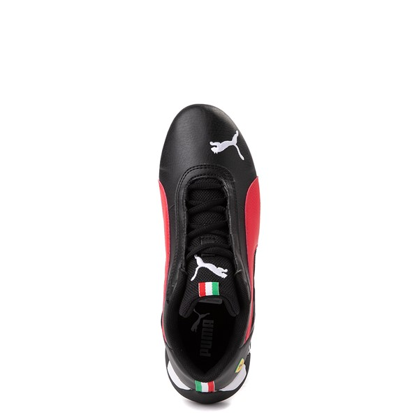 alternate view Puma Scuderia Ferrari Replicat Athletic Shoe - Big Kid - Black / RedALT4B
