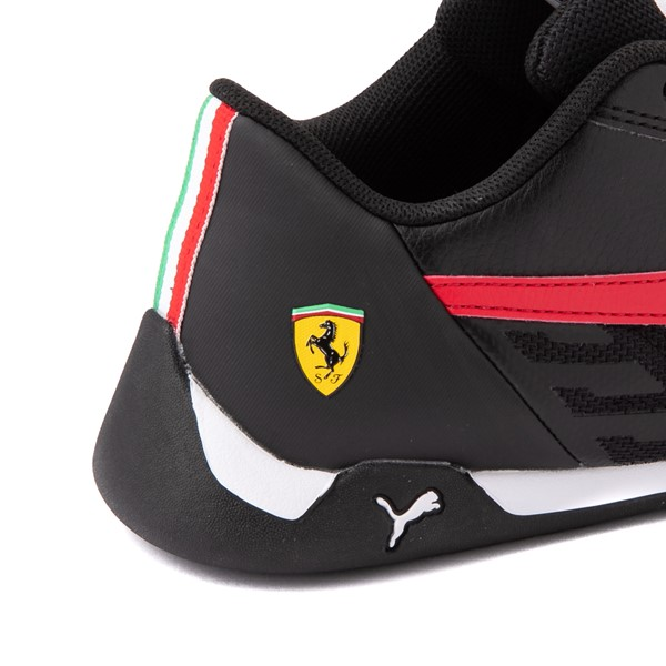 alternate view Puma Scuderia Ferrari Replicat Athletic Shoe - Big Kid - Black / RedALT7