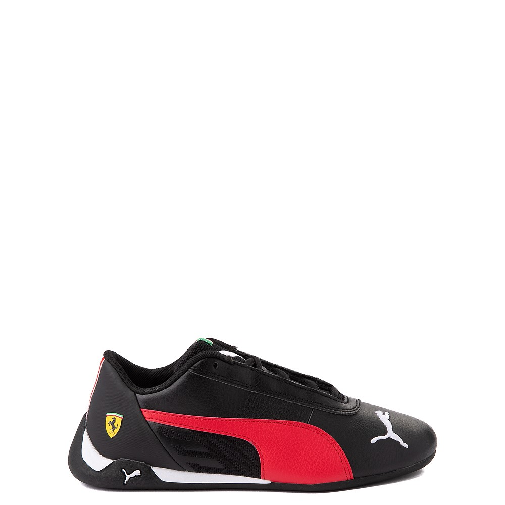 Puma Scuderia Ferrari Replicat Athletic Shoe - Big Kid - Black / Red
