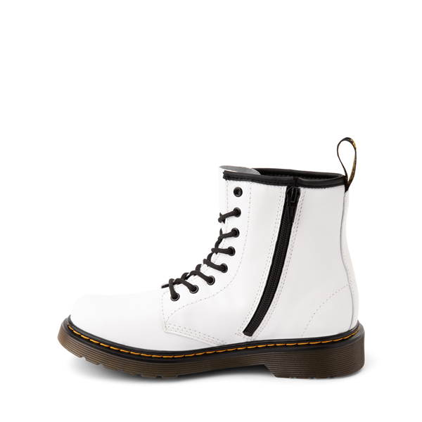 alternate view Dr. Martens 1460 8-Eye Boot - Little Kid / Big Kid - WhiteALT1