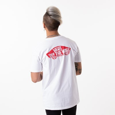 Main view of Mens Vans Off the Wall Primary Tee - White