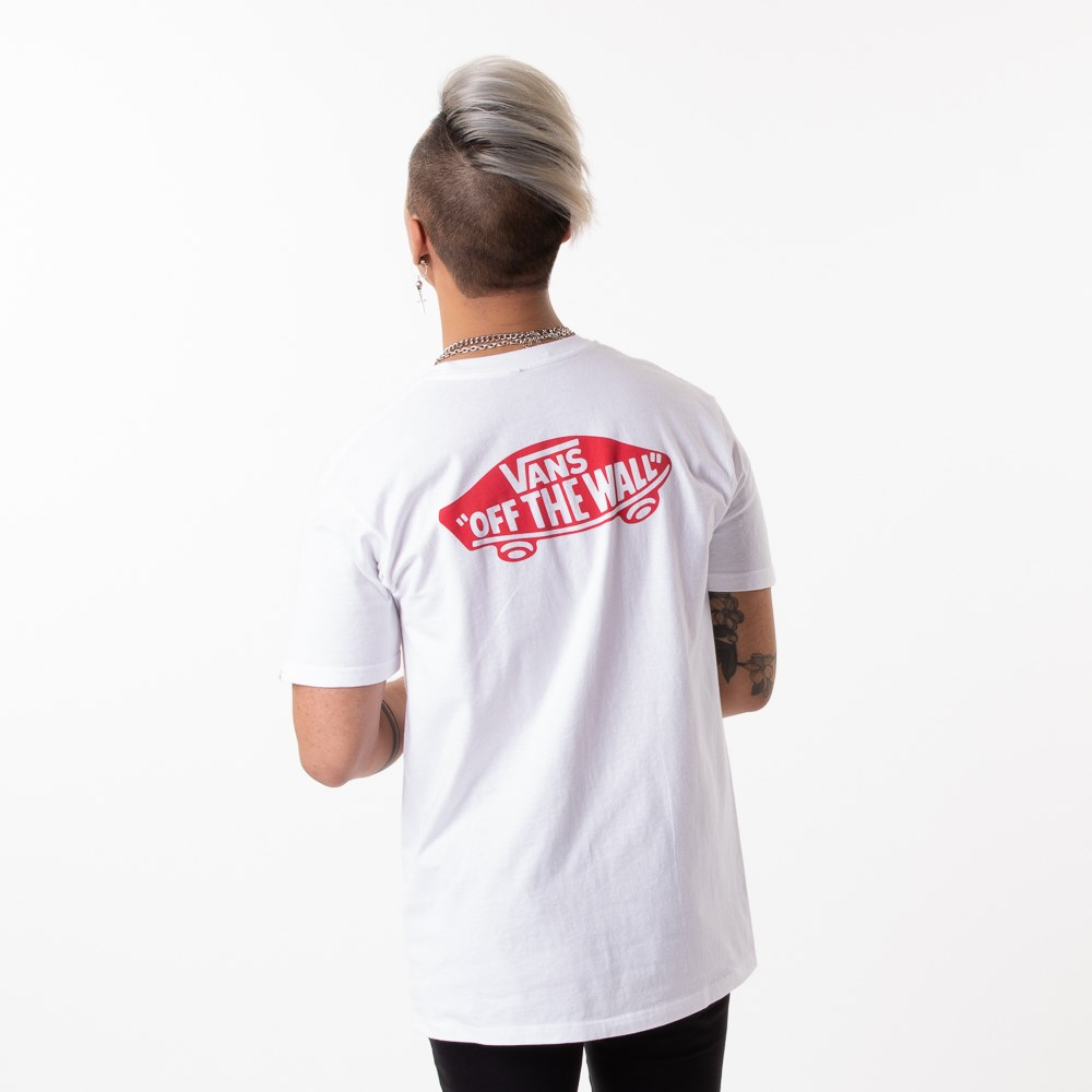 Mens Vans Off the Wall Primary Tee - White