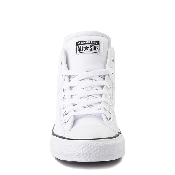 alternate view Converse Chuck Taylor All Star CS Mid Sneaker - WhiteALT4