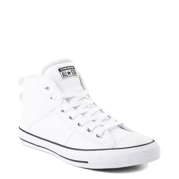 alternate view Converse Chuck Taylor All Star CS Mid Sneaker - WhiteALT5