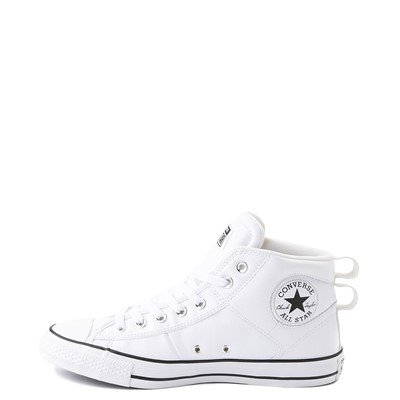 Alternate view of Converse Chuck Taylor All Star CS Mid Sneaker - White