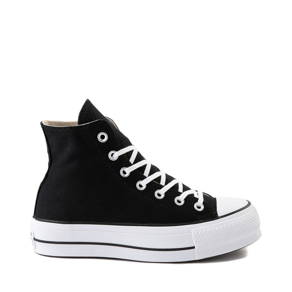 Main view of Womens Converse Chuck Taylor All Star Hi Platform Sneaker - Black