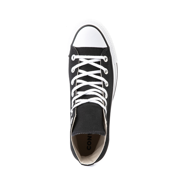 alternate view Womens Converse Chuck Taylor All Star Hi Platform Sneaker - BlackALT2