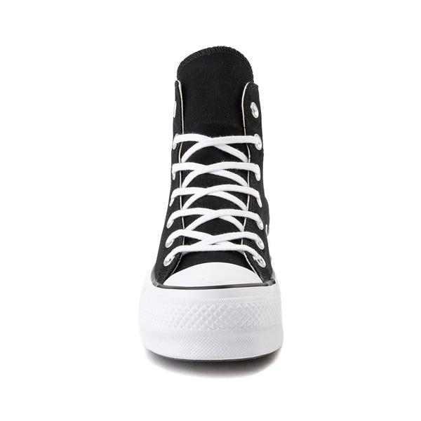 alternate view Womens Converse Chuck Taylor All Star Hi Platform Sneaker - BlackALT4