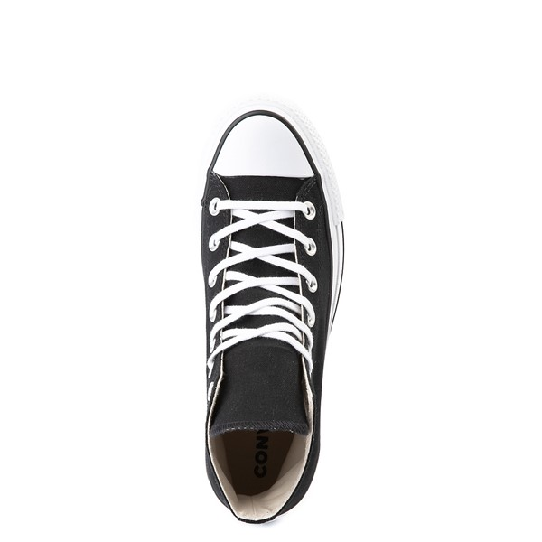 alternate view Womens Converse Chuck Taylor All Star Hi Platform Sneaker - BlackALT4B
