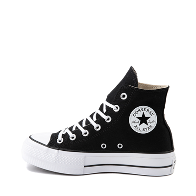 Alternate view of Womens Converse Chuck Taylor All Star Hi Platform Sneaker - Black
