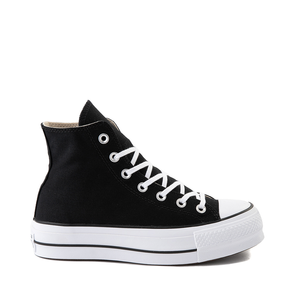 Womens Converse Chuck Taylor All Star Hi Platform Sneaker - Black