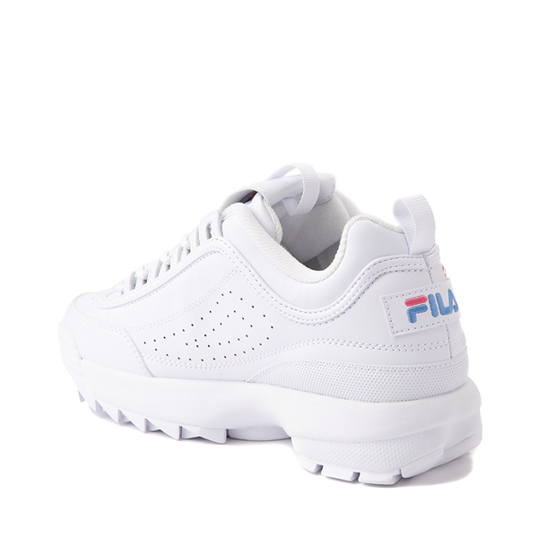 alternate view Womens Fila Disruptor 2 Rose Athletic Shoe - WhiteALT1