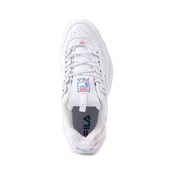 alternate view Womens Fila Disruptor 2 Rose Athletic Shoe - WhiteALT2