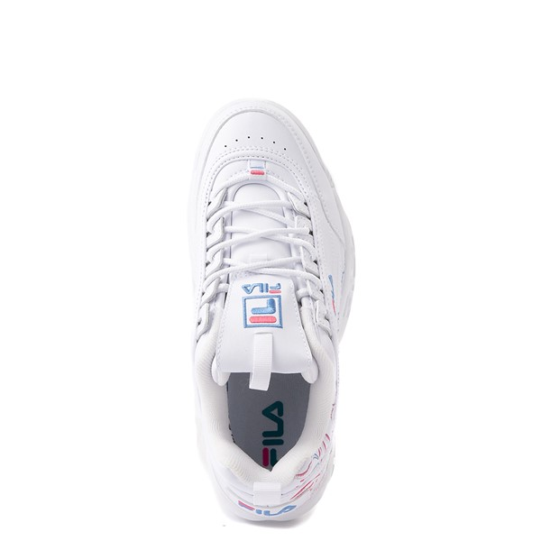 alternate view Womens Fila Disruptor 2 Rose Athletic Shoe - WhiteALT4B