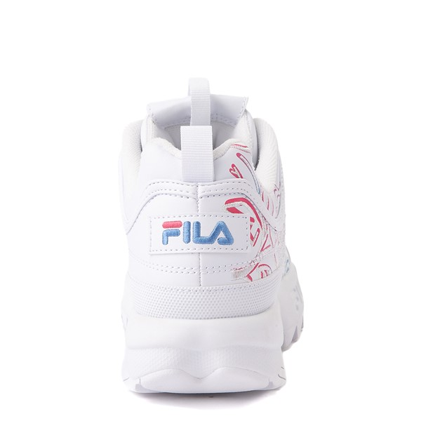 alternate view Womens Fila Disruptor 2 Rose Athletic Shoe - WhiteALT6