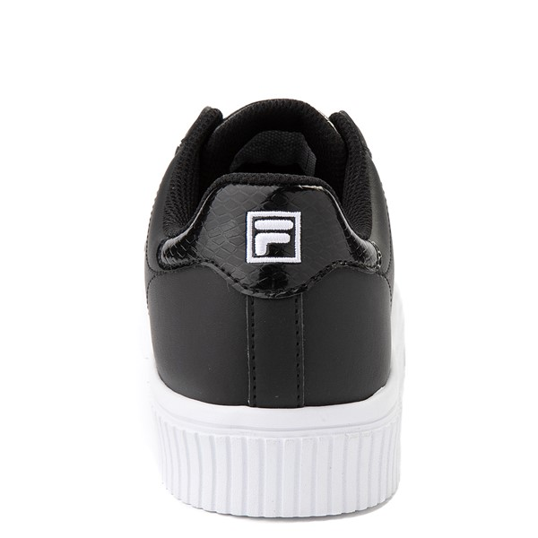 alternate view Womens Fila Panache Platform Athletic Shoe - BlackALT4
