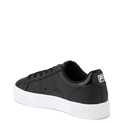 Alternate view of Womens Fila Panache Platform Athletic Shoe - Black
