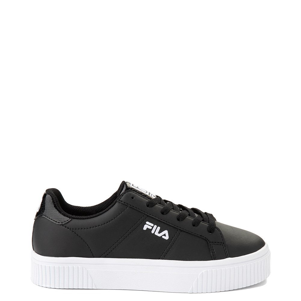 Womens Fila Panache Platform Athletic Shoe - Black