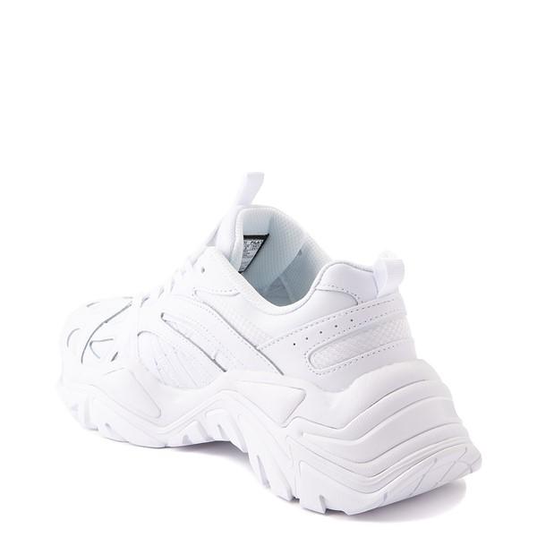 alternate view Womens Fila Electrove Athletic Shoe - White MonochromeALT1