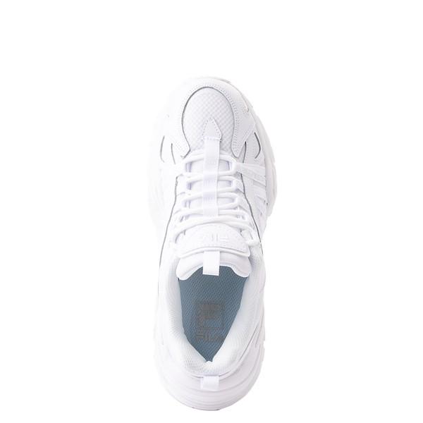 alternate view Womens Fila Electrove Athletic Shoe - White MonochromeALT4B